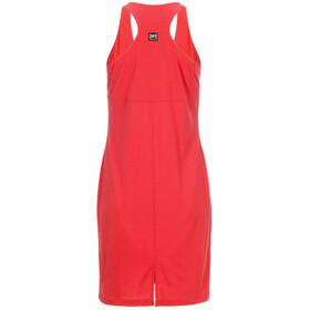 super.natural W's Essential Racer Dress Clove Red